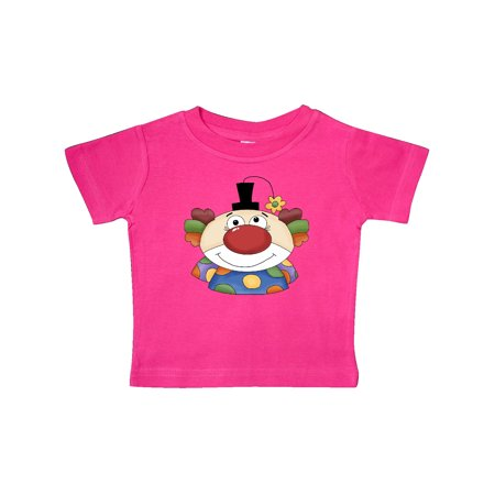 Big Clown Face Baby T-Shirt