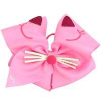 JoJo Siwa Hair Bow, Pink Cat Critter