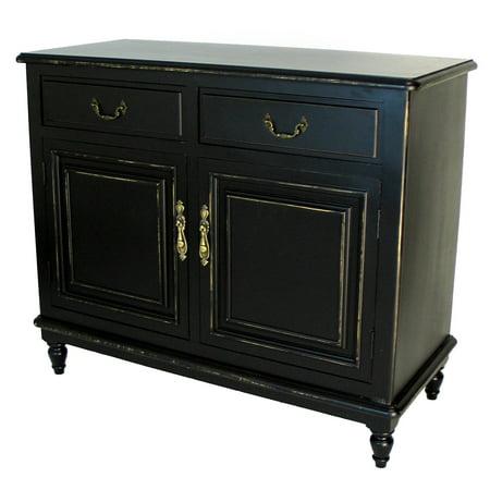 Wayborn Paladin Buffet Cabinet - Antique Black ()