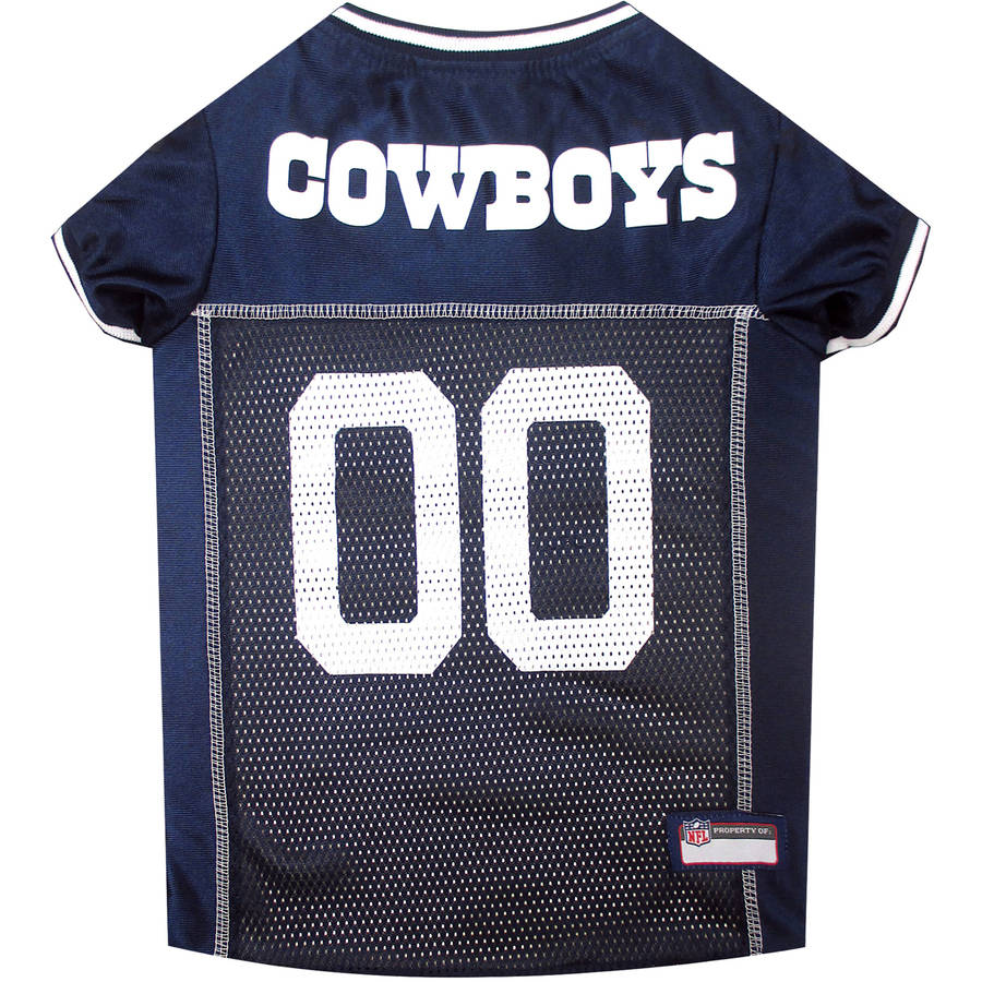Pets First NFL Dallas Cowboys Pet Jersey