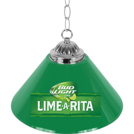 Bud Light Lime-A-Rita Single Shade Bar Lamp, 14