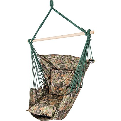 Club Fun™ Camouflage Hanging Rope Chair
