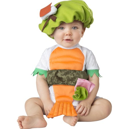 Silly Sushi Unisex Infants Sea Food Roll Halloween Costume](Halloween Food Ideas For Babies)
