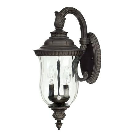 Capital Lighting  Ashford Collection 2-light Old Bronze Outdoor Wall Lantern
