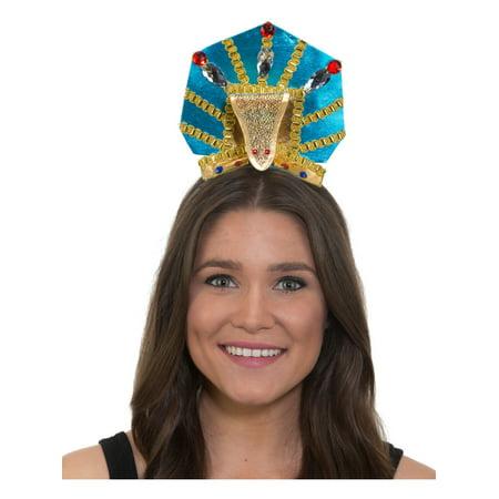 Womens Ancient Egyptian Pharoah Snake Headband Costume - Snakes Head