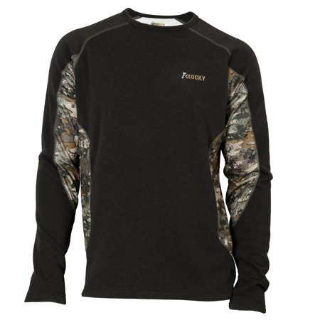 Rocky Mens Thermal Long Sleeve T Shirt Rocky Venator Camo Xl