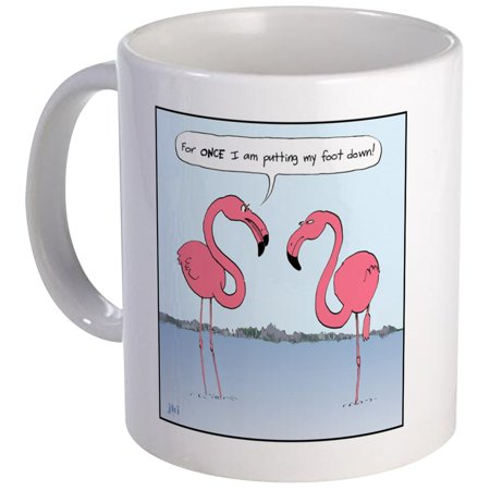 CafePress - Pink Flamingos Mug - Unique Coffee Mug, Coffee Cup CafePress