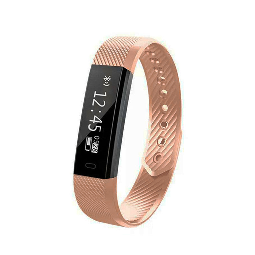 Bonrich ID115 Smart Watch Bracelet Fitness Tracker Step Counter Activity Monitor Alarm Clock Vibration Wristband