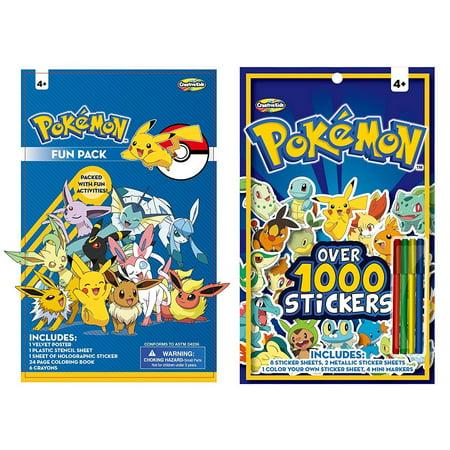 Pokemon Sticker Book](Pokemon Stickers)