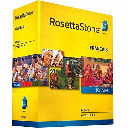 Rosetta Stone Version 4 French Levels 1 3 Set  Pc Mac