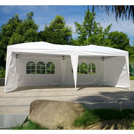 Ktaxon 10 X 20 Outdoor Patio Gazebo EZ POP UP Party Tent Wedding Canopy