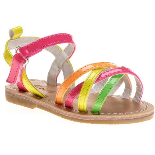 Baby Girls' Neon Strappy Sandal