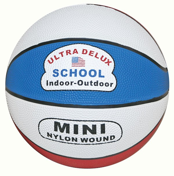 Mini Basketball Red/White/Blue