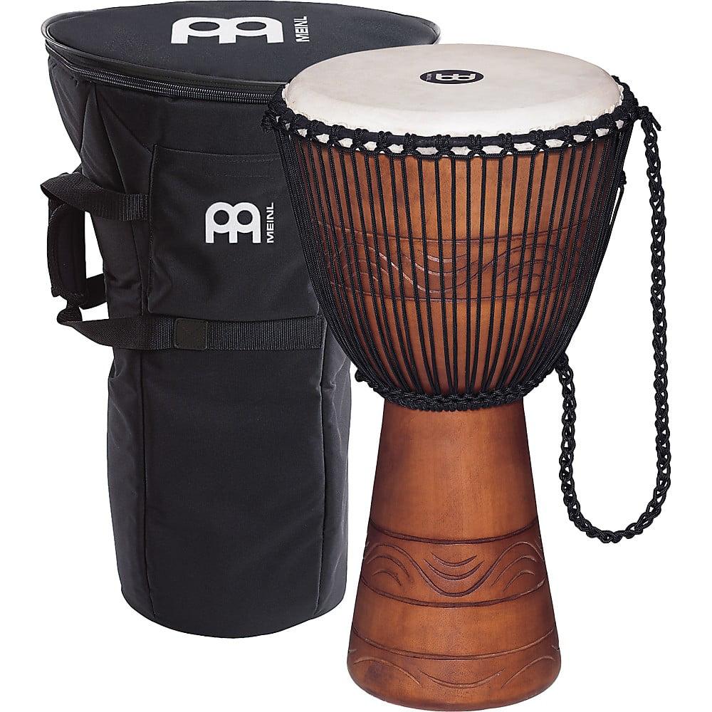Meinl African Djembe with Bag Medium by Meinl