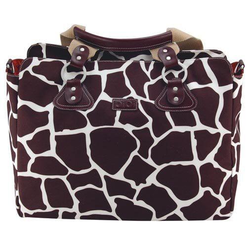 OiOi Tote Diaper Bag- Giraffe Print