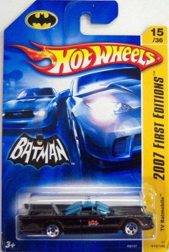 1966 BATMOBILE Hot Wheels 2007 First Editions Series 1966 TV Series Batman Batmobile 1:64... by Mattel