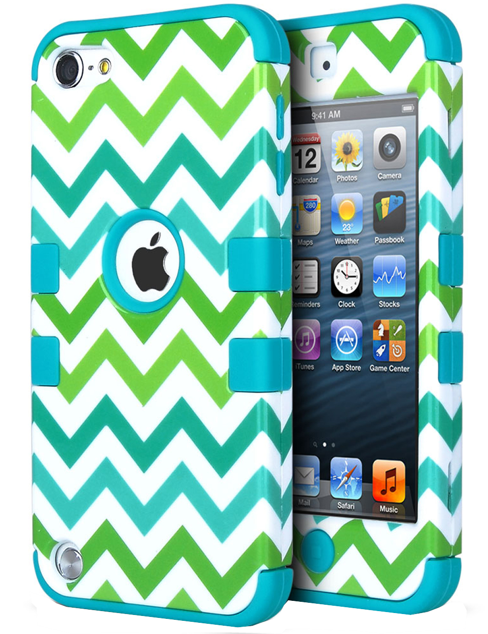 separation shoes eab94 80679 iPod Touch 7 Case, iPod Touch 6th Generation Case,ULAK Hybrid Dual Layer  Hybrid Shockproof Cover Case Silicon Hard Cover for iPod Touch 5 5th Gen /  6 ...