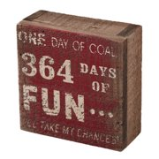 Attraction Design Home ''364 Days of Fun'' Sign Wall D cor