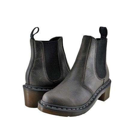 Dr. Martens Cadence Women's Shoes Chelsea Boot 15283002 Black Greenland - Dr Martens On Girls