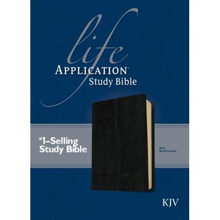 KJV Life Application Study Bible, Second Edition (Red Letter, Bonded Leather, Black)