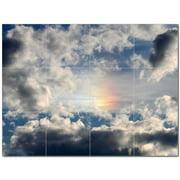 Cloud Picture Ceramic Tile Mural Kitchen Backsplash Bathroom Shower 404634-S43