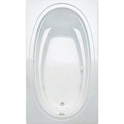 Aquatic Whirlpool Tub (Aquatic Bath 5660621-WH White 60