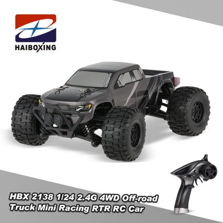 Mini 4wd Trucks (HBX 2138 1/24 2.4G 4WD 2CH Off-road Truck Mini Racing RTR RC Car)