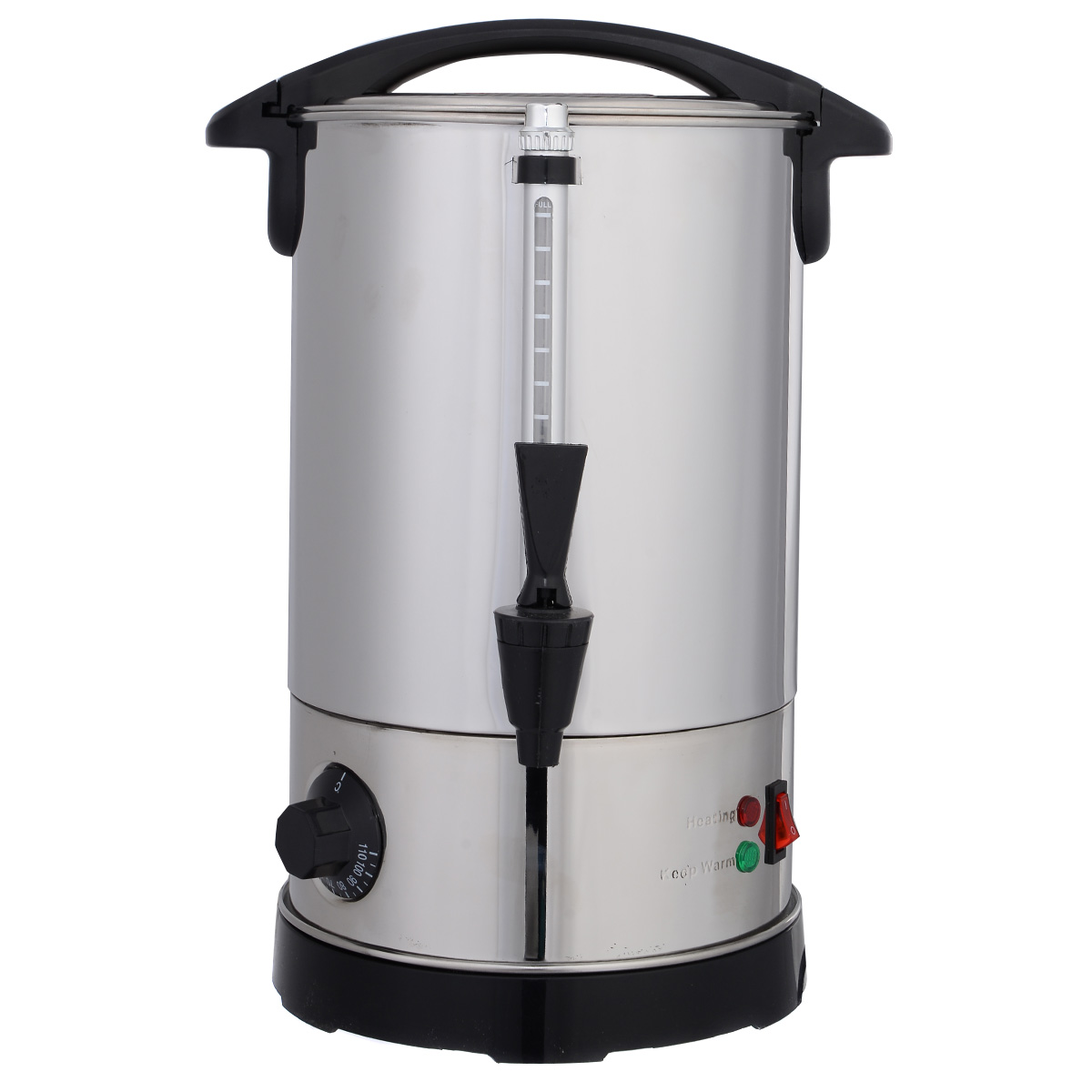 Costway Stainless Steel 6 Quart Electric Water Boiler Warmer Hot Water Kettle Dispenser