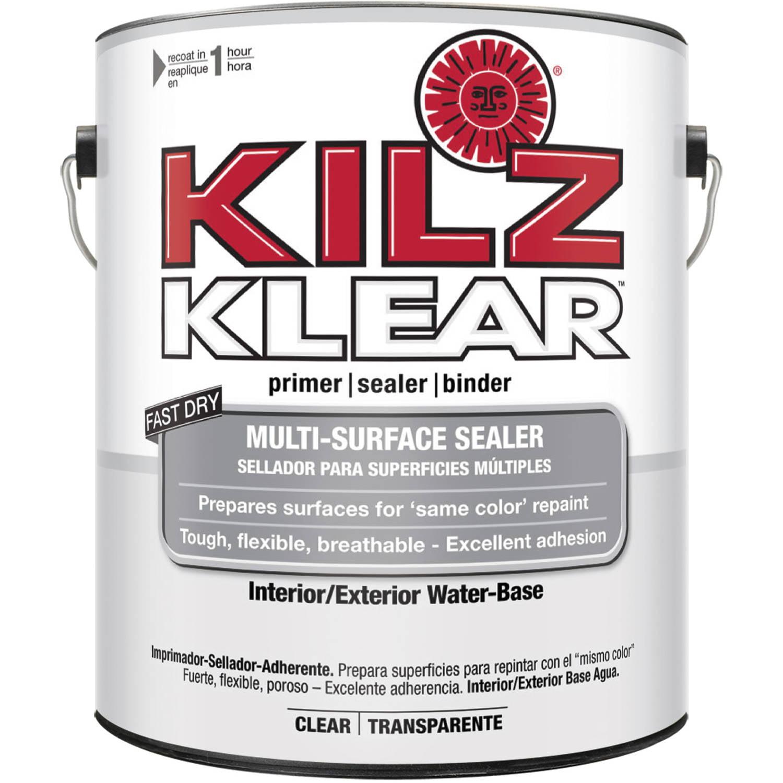 KILZ KLEAR Interior/Exterior Multi-Surface Primer/Sealer/Binder