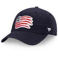 New England Revolution Fanatics Branded Fundamental Adjustable Hat - Navy - OSFA