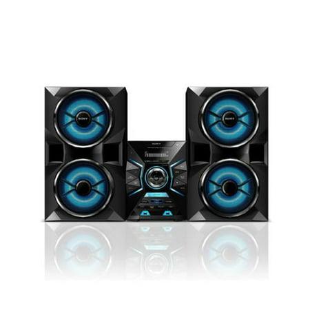 Sony Music Radio CD Aux Speaker System w/ Bluetooth & Dual USB Inputs LBT-GPX77