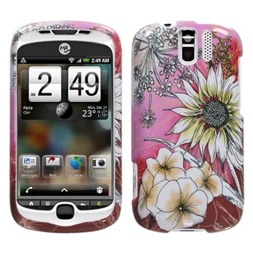 Insten Spring Time Phone Case for HTC: myTouch 3G Slide