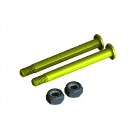 Titanium Kingpin (Integy RC Toy Model Hop-ups F113-303 Titanium Coated King Pin Shaft 3.17 x 31.8mm For)
