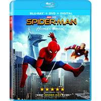 Spider-man: Homecoming (Blu-ray + DVD + Digital)