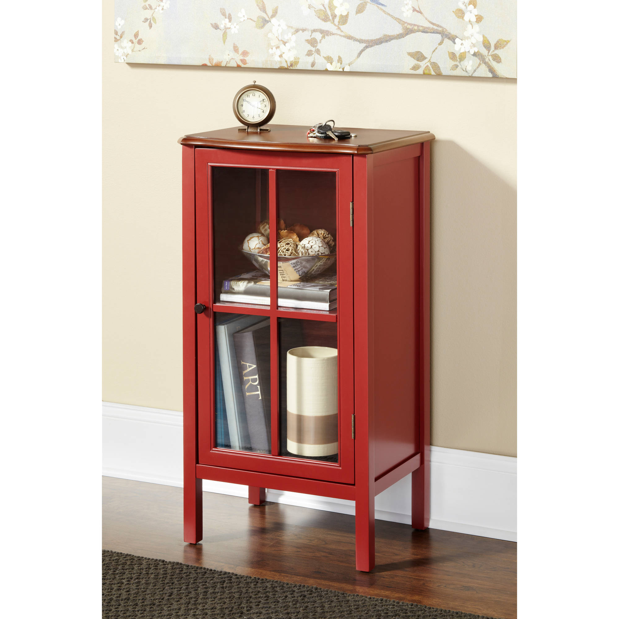 10 Spring Street Hinsdale 1-Door Cabinet, Multiple Colors