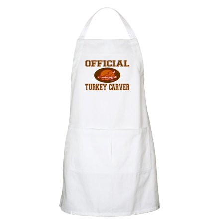 CafePress - Official Turkey Carver BBQ Apron - Kitchen Apron with Pockets, Grilling Apron, Baking Apron New Bbq Apron