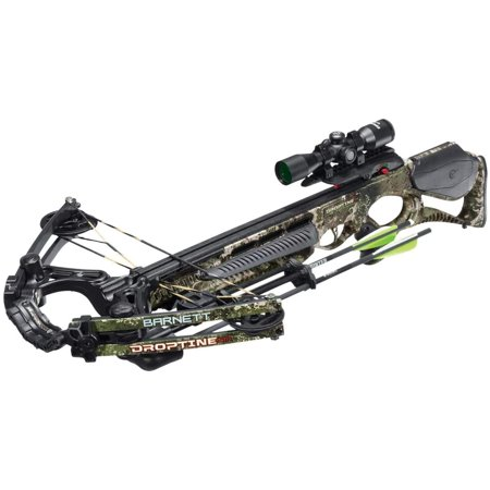 Barnett Droptine STR 380 FPS TriggerTech Hunting Crossbow Package, Strata Camo thumbnail