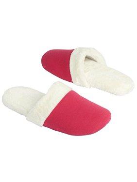 16eab7bb8 Product Image Silver One Women s Jersey Memory Foam Scuff Slip On Slippers  (L XL 8-