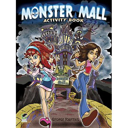 Monster Mall Activity Book - Monster High Activity Journal