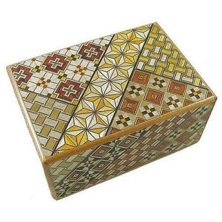 4 Sun 10 Steps Japanese Puzzle Box ()
