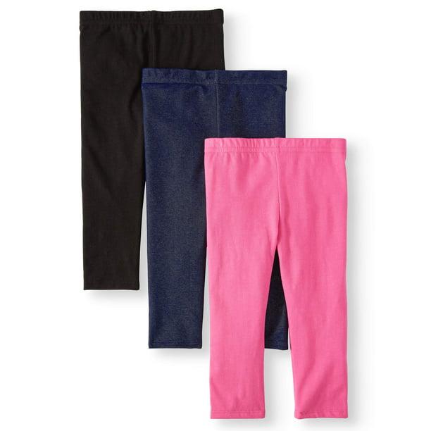 Garanimals Garanimals Solid Capri Leggings 3pc Multi Pack Toddler Girls Walmart Com Walmart Com
