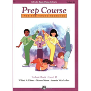 Alfred's Basic Prep Technic Book: Level D (Alfred'