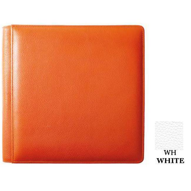 Raika WH 105-C WHITE 4inch x 6inch Combination Insert Photo Album - White
