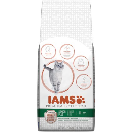 Iams Senior Plus Dry Cat Food