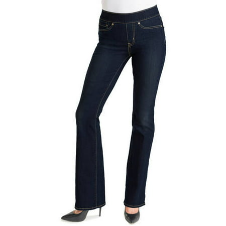 b6f5eacb Signature by Levi Strauss & Co. - Women's Totally Shaping Pull On Bootcut  Jeans - Walmart.com