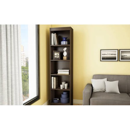South Shore Smart Basics 5 Shelf Narrow Bookcase Multiple Finishes Walmart Com