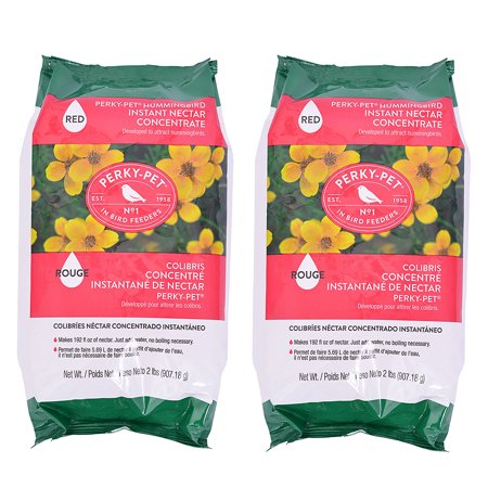 Perky Pet Perky-Pet 244Sfb 2 lb Red Instant Nectar - 2 Pack, 2 pack of nectar By PerkyPet