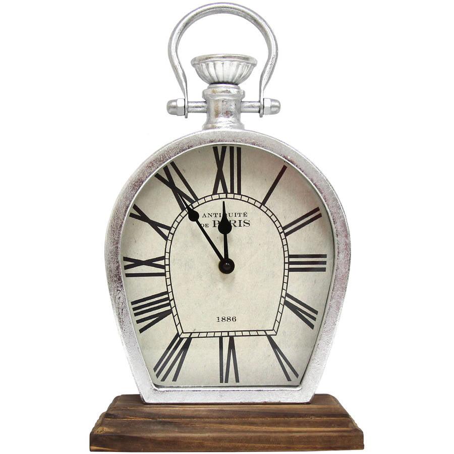 Stratton Home Figaro Table Top Clock by Stratton Home Decor