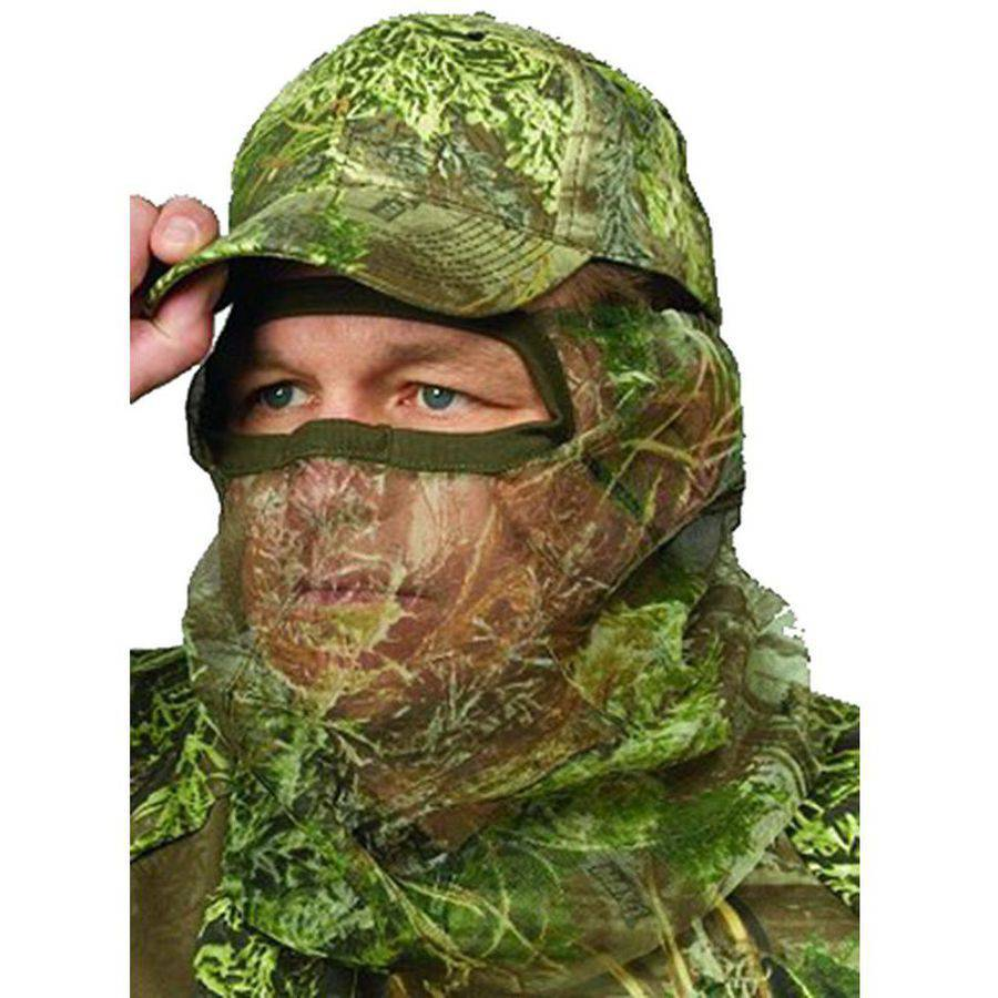 Hunters Specialties Flex Form II 3/4 Net Mask, Realtree Max-1, One Size
