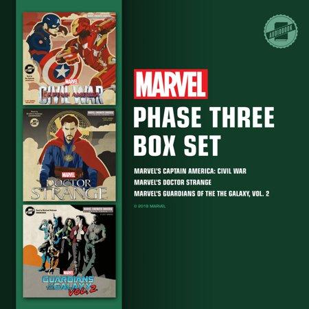 Marvel's Phase Three Box Set - Audiobook